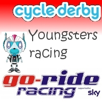Cycle Derby youngsters racing