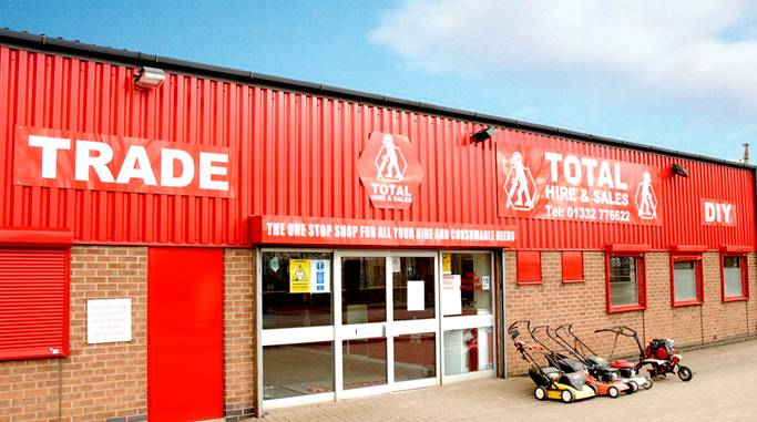 Total Hire and Sales - Midlands