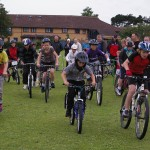 CycleDerby Interschools racing in summer 2010