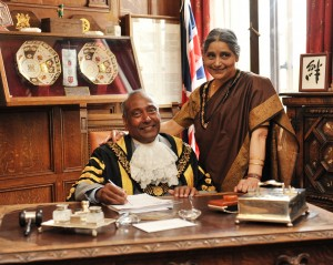 Councillor and Mrs Amar Nath