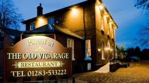 Pascal at the Old Vicarage restaurant