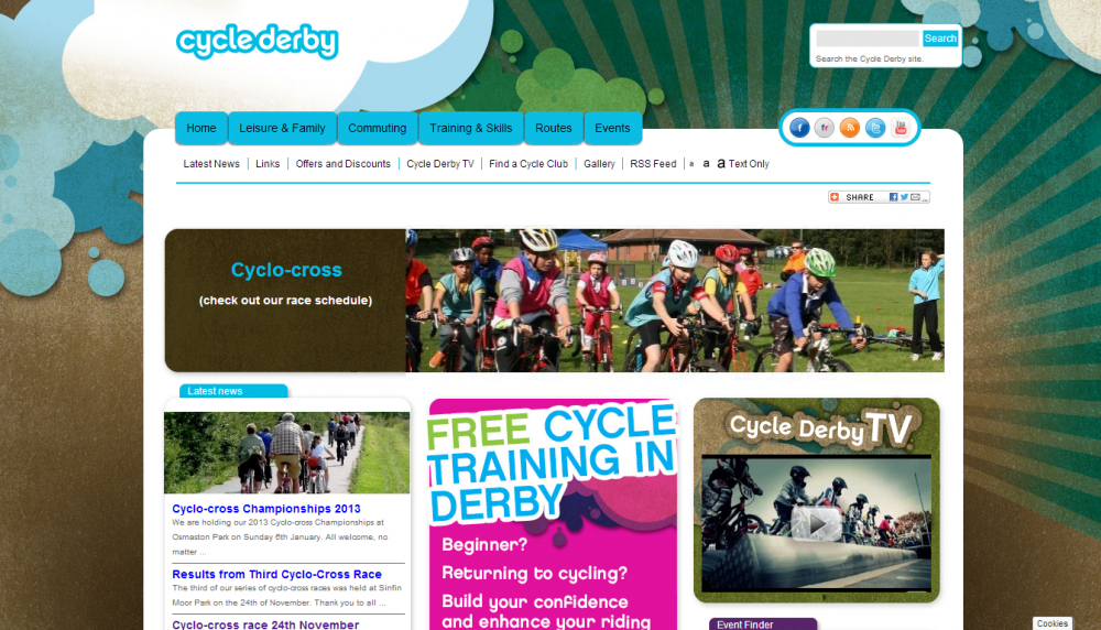 Cycle Derby races for youngsters