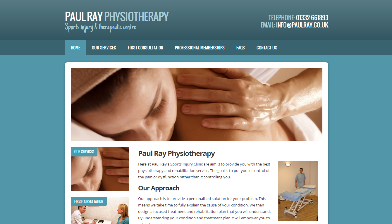 Local physio supports event!