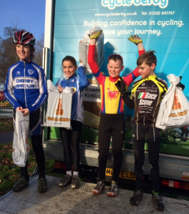 Cycle Derby youngsters race winners